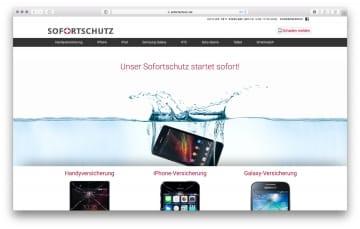Sofortschutz Webseite 2016