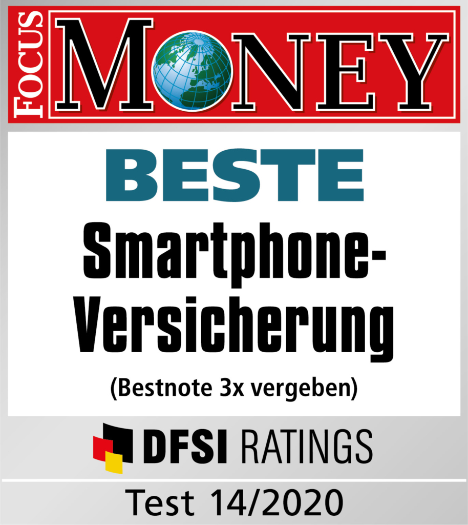 Focus Money beste Smartphone Versicherung