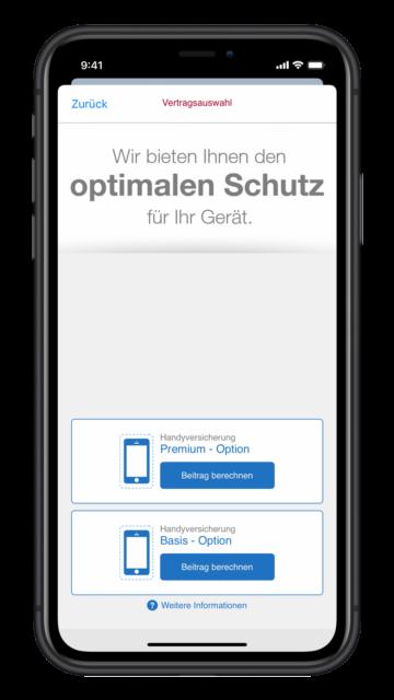 Optimaler Schutz mit der Wertgarantie App